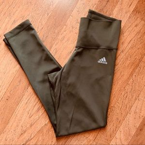 Adidas Olive Green Active Leggings
